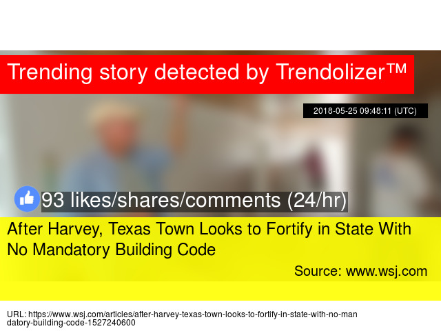 After Harvey, Texas Town Looks to Fortify in State With No Mandatory